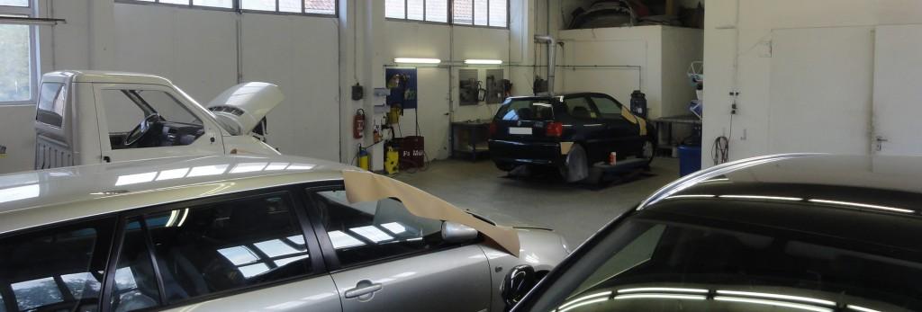 Werkstatthalle Ihr Auto-Lack-Doktor in Koitzsch